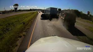 Dashcam Video Shows Dump Truck Slamming Into Stopped Cars « WCCO ...