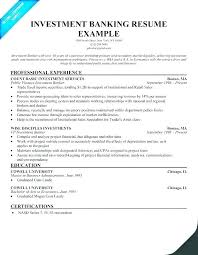 Sample Resume Of Bank Teller Template Write Your Investment Banking Less With Experience Example