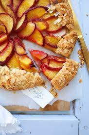 rezept für pfirsich galette tarte mit mandeln galette