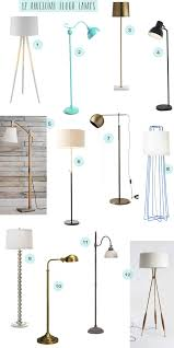 Autry Floor Lamp Crate And Barrel by Black Meets Brass The Combo Of The Moment Lights Up The Room In A