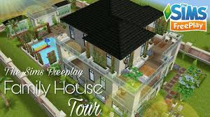 Sims Freeplay Second Floor by The Sims Freeplay Family House Tour Youtube