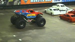 100 Spiderman Monster Truck Spider Man Trucks Jam MEN YouTube