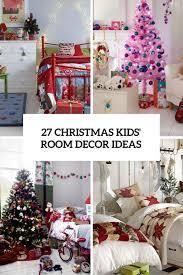 Christmas Kids Room Decor Ideas Cover