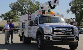 Battery-Powered Trucks A Big Lift For SCE Workers, Environment ... A123 Selected To Power Plugin Hybrid Electric Trucks For Eaton Allnew 2015 Ford F150 Ripped From Stripped Weight Houston 110 1968 F100 Pick Up Truck V100s 4wd Brushed Rtr Fords Hybrid Will Use Portable Power As A Selling Point History Of The Ranger A Retrospective Small Gritty The Wkhorse W15 With Lower Total Cost Of Commercial Upfits Near Chicago Il Freeway Sales No Need Wait Until 20 An Allelectric Opens Door For An Pickup Caropscom Throws Water On Allectric Prospects Equipment Plans 300mile Electric Suv And Mustang Wxlv