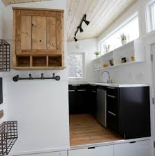 Ana White Kitchen Cabinets by Open Concept Rustic Modern Tiny House Photo Tour And Sources Ana