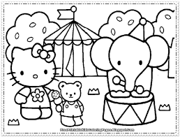 Coloring Pages Hello Kitty