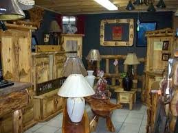 Log Style Pine Hickory Lamps Armiore
