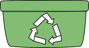 Green Recycle Bin Clip Art Green Recycle Bin Image