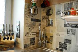 Wall Decoration Ideas Pinterest Immense Engaging Kitchen Decor For Walls Cookware 15