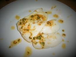 cuisiner seche blancs de seiches sautés à l espagnole facile et pas cher