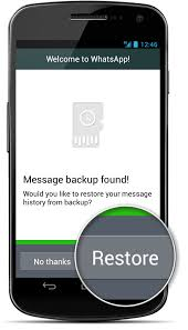 How to transfer WhatsApp messages from e phone to Another