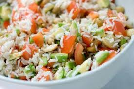 cuisine salade de riz salade de riz au thon mayonnaise recettes de cuisine espagnole