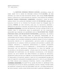 Carta De Renuncia A Una Herencia