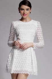 white lace dresses with sleeves woman and more