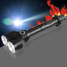 cree t6 dual xm l led bulbs 1800 lumens 18650 flashlight l