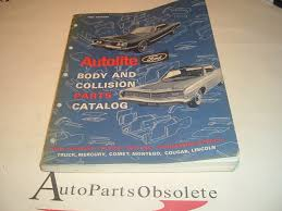 100 Obsolete Ford Truck Parts 1968 Body Collision Parts Reference Catalog