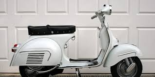 The Scooter Is Best Of Breed In Vespa It Has An Updated Body Design