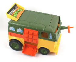 Teenage Mutant Ninja Turtles Party Wagon TMNT (1989, Playmates) - My ... Fingerhut Teenage Mutant Ninja Turtles Micro Mutants Sweeper Ops Fire Truck To Tank With Raph Figure Out Of The Shadows Die Cast Vehicle T Nyias 2016 The Tmnt Turtle Truck Pt Tactical Donatellos Trash Toy At Mighty Ape Pop Rides Van Teenemantnjaturtles2movielunchboxpackagingbeautyshot Lego Takedown 79115 Toys Games Others On