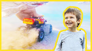 Underwater Monster Truck Arena At The Beach - YouTube Video Monster Vehicles Truck Car More The Carl The Super And Hulk In City Cars Fire Team Vs Youtube Kids Top 17 Trucks I Want To See At Monster Jam Tacoma 2015 Scary For Halloween Special Kids Haunted House Garage Race Episodes 1 11 Batman And Deadpool Surprise Egg Vs Wolverin Trucks For Children Red Easy On Eye Grave Digger Toys Feature Year Old Baby Driving Truck