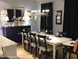 Dining Room Ideas Ikea With Small Space Sleek Table