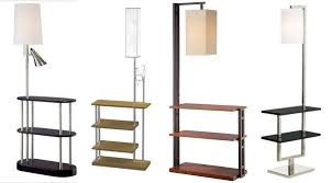 Mainstays Floor Lamp With Reading Light Brown by 10 Amazing Illumination Ideas Of Using Floor Lamp With Shelf