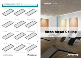 Armstrong Suspended Ceilings Uk by Mesh Metal Ceiling Armstrong Ceilings Europe Pdf Catalogues