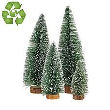 Desktop Miniature Pine Tree Tabletop Christmas Small Decor Toppers