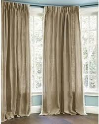 Nate Berkus Curtains Burlap by Cotton Twill Panel Fully Lined Only 108