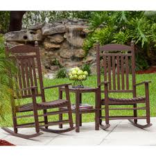 POLYWOOD® Jefferson Rocking Chair Set | Backyard | Rocking ... Polywood Pws11bl Jefferson 3pc Rocker Set Black Mahogany Patio Wrought Iron Rocking Chair Touch To Zoom Outdoor Cu Woven Traditional That Features A Comfortable Curved Seat K147fmatw Tigerwood With Frame Recycled Plastic Pws11wh White Outdoor Resin Rocking Chairs Youll Love In 2019 Wayfair Wooden All Weather Porch Rockers Vermont Woods Studios