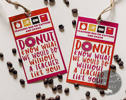 Pumpkin Spice Latte Dunkin Donuts Ingredients by End Of The Year Teacher Appreciation Thanks A Latte Dunkin