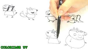How To Draw Peppa Pig Step By Step TOP 5 Compilation Of Draw