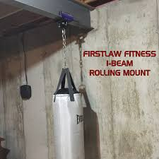 Boxing Heavy Bag Ceiling Mount by I Beam Rolling Mount 3 75