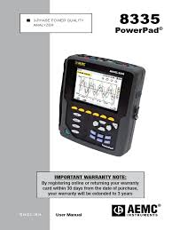 manual aemc 8335 pdf battery electricity battery charger