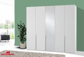 kleiderschrank schlafzimmerschrank new york weiß 225cm 5 türig