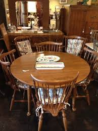 Ethan Allen Dining Room Set by Ethan Allen Dining Table W 6 Chairs U0026 1 Leaf By Newleafgalleries
