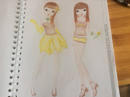 Coloriage De Fille De Top Model Des Milliers De Coloriage