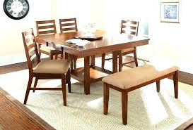 Upholstered Bench With Back Dining Room Banquette Table Set Chairs