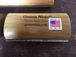 Dog Horse Shedding Blade by Review Groom Ninja Shedding Blade Velvet Rider