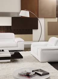 100 Sofa Living Room Modern Whitebeige Sectional Leather S 8230 Leather Sofa