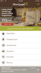 Olive Garden Italian Kitchen on the App Store