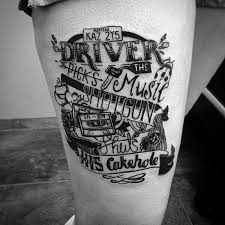 Supernatural Tattoo With The Words
