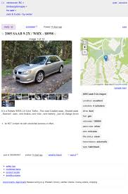 100 Craigslist Tri Cities Cars Trucks Would You Pay 8998 Canadian For This 2005 Saabaru 92x WRX