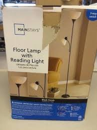 Mainstays Floor Lamp With Reading Light Assembly by Best Mainstays Floor Lamp Contemporary Flooring U0026 Area Rugs Home
