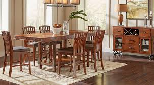 Dark Wood Dining Room Sets Cherry Espresso Mahogany Brown Etc