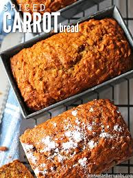 This delicious spiced carrot bread with vanilla chips is a simple and easy recipe designed for