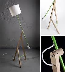 Amazing Brilliant Cool Floor Lamps Contemporary Long Flexible Swing Regarding Design