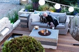 feuertisch auf der terrasse kein rauch kein gestank kein