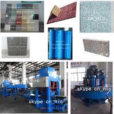 kb125e400 construction terrazzo tile equipment machine to make