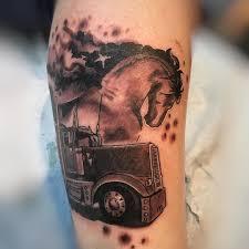 100 Truck Tattoo Baroque Medias On Instagram Picgra