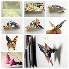 Wonderful DIY Paper Origami Butterfly